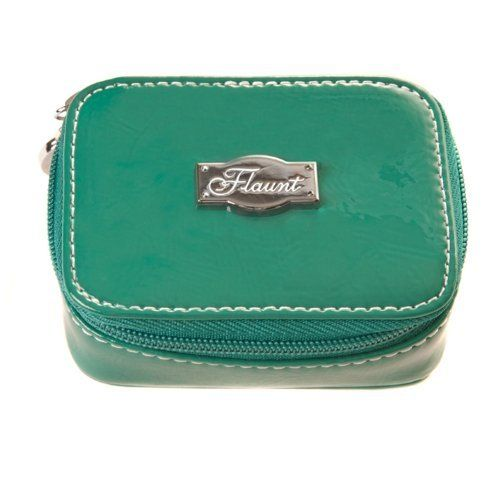"Solid Teal Pill Case * Flaunt Handbag NWT Patent Liquid Gloss 92166 by Flaunt. $19.95. Solid Teal Pill Case 3.5 "" x 2.5"" x 1.5"""
