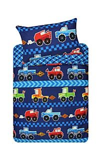 MONSTER TRUCK DUVET COVER SET