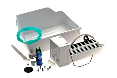 Frigidaire IM115 Ice Maker for Refrigerator by Frigidaire. $68.30. From the Manufacturer                Frigidaire IM115 Ice Maker for Refrigerator. Complete kit: bucket, water valve and hardware. Installation instructions are included. Part Number IM115. Genuine Replacement Part.                                    Product Description                Frigidaire(R) Refrigerator Icemaker Kit (Color: White). Save 32% Off!