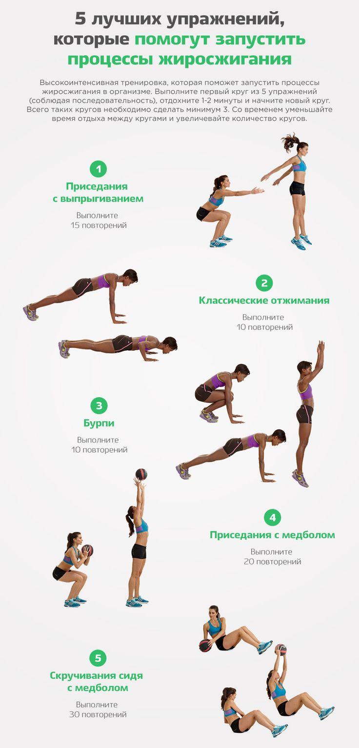 Хороший Комплекс Для Похудения. Лучшие упражнения для похудения: ТОП-7 самых-самых
