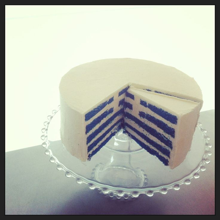 In preparation for Greek Independence Day...a Greek flag cake!! Made by The Sweet Spot, Athens