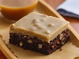 New Orleans Praline Brownies from Betty Crocker: Desserts, New Orleans, Sweets, Food, Betty Crocker, Orleans Praline, Brownie Recipe