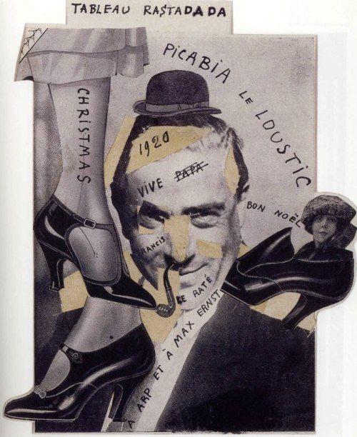 Francis Picabia - Tableau RastaDada (Dada)(1920)