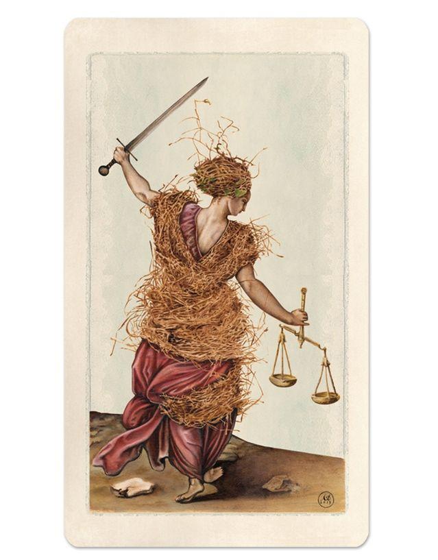 11 / Justice / Pagan Otherworlds Tarot