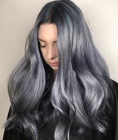 Metallic Denim Hair ! What's your shade of denim jeans? Light blue, dark blue, navy, greyish?
