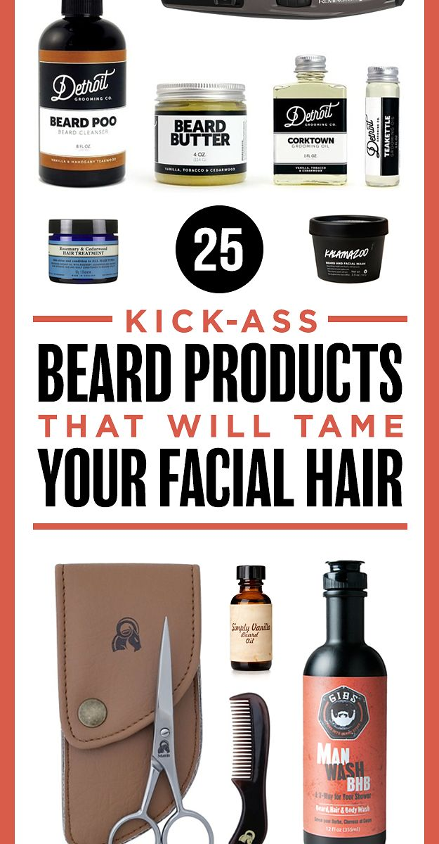 20 Kick-Ass Beard Products That Will Tame Your Facial Hair
