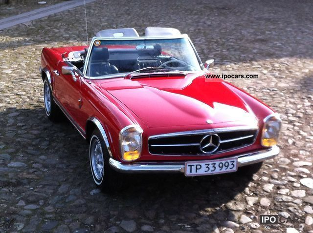 Mercedes-Benz  230 SL 1963 Vintage, Classic and Old Cars photo