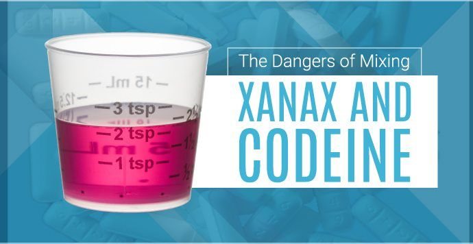 Xanax and codeine on their own come with a list of possible side effects and dangerous symptoms of tolerance and dependency, but what about combining the two drugs?   For help with alcohol addiction, contact a treatment specialist today at (888) 650-5661. #xanax #codeine #addiction #treatment