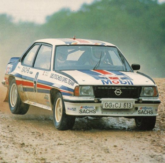 Opel Ascona 400 rally car