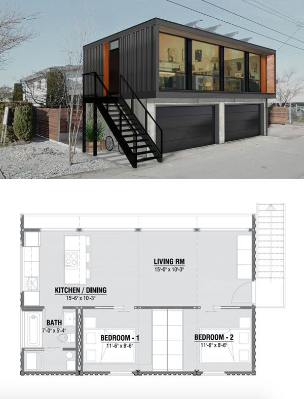 8 best Container images on Pinterest | Container houses, Container ...