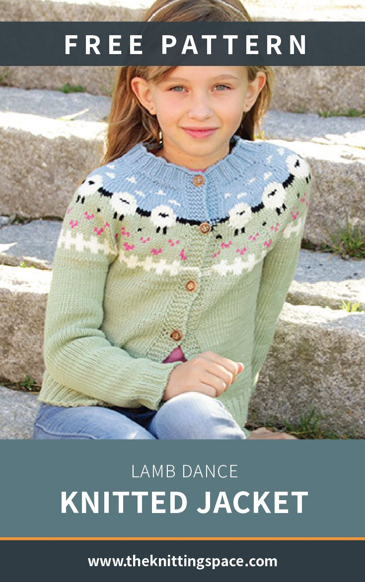 Create This Beautiful Knitted Lace Sweater For Your Kid In