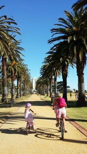 Biking St Kilda Beach, Melbourne, #Australia
