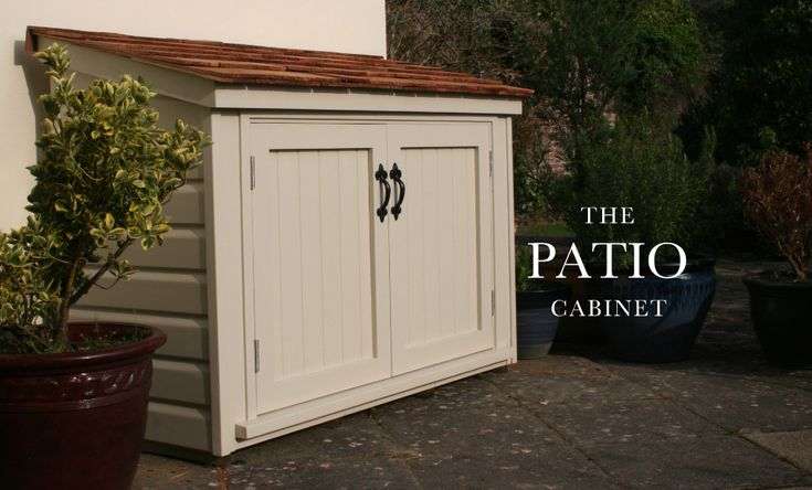 the handmade garden shed exeter topsham the patio cabinet - Garden Sheds Exeter