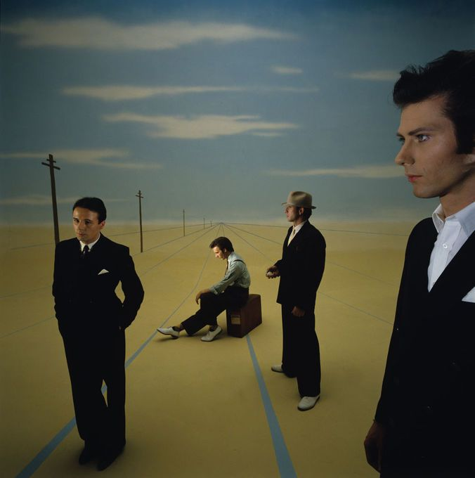 Ultravox - photograph by Brian Griffin