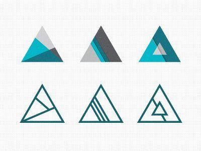 Tri_explorations (Prendre une forme définie et en faire ce qu'on veut à l'intérieur)