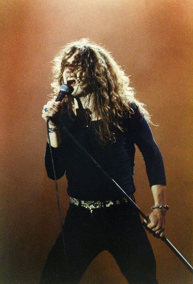 Whitesnake live at Reading Festival, 1980