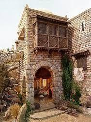 1000 images about casas para pesebre on pinterest wall - Casas de navidad ...