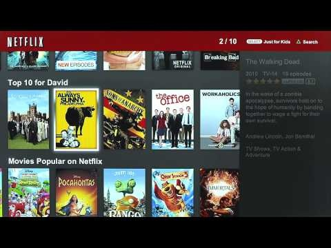 Updated Netflix Player on PlayStation 3 now available