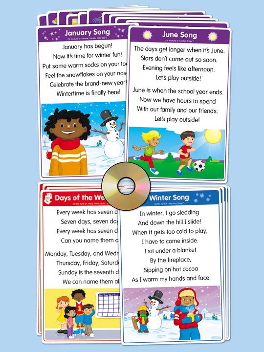 Circle Time Song Posters
