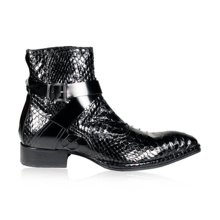 Python Boots Ghost Mens 986 Jo Black Zip Ufuk S Wardrobe Ghosts