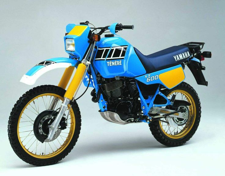 Image issue du site Web http://www.motorcyclespecs.co.za/Gallery%20C/Yamaha%20XT600%20Tenere%2086.jpg