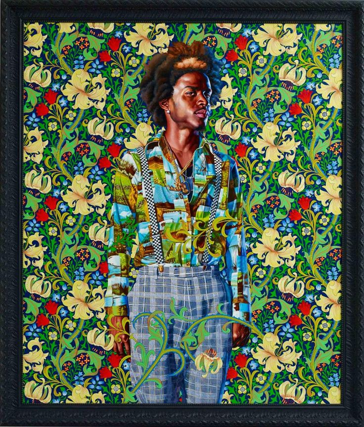 KEHINDE WILEY 'THE WORLD STAGE: JAMAICA' - 'Portrait of James Hamilton, Earl of Arran'