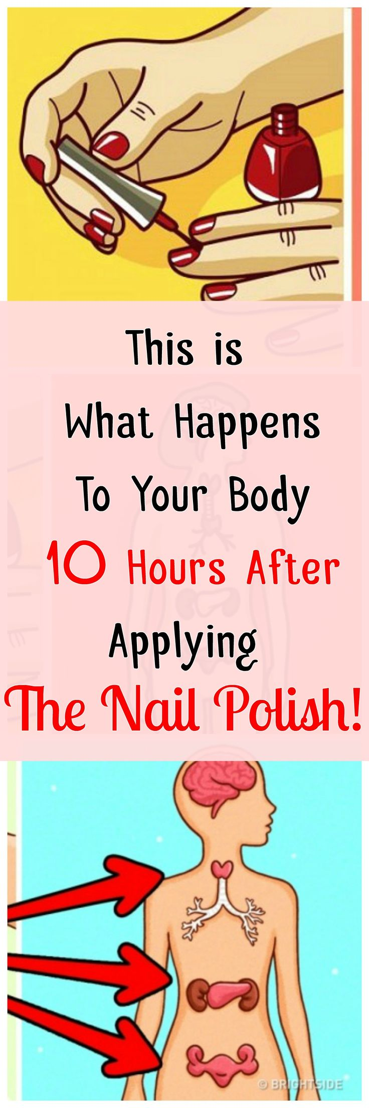 This is What Happens To Your Body TEN Hours After Applying The Nail Polish!!.