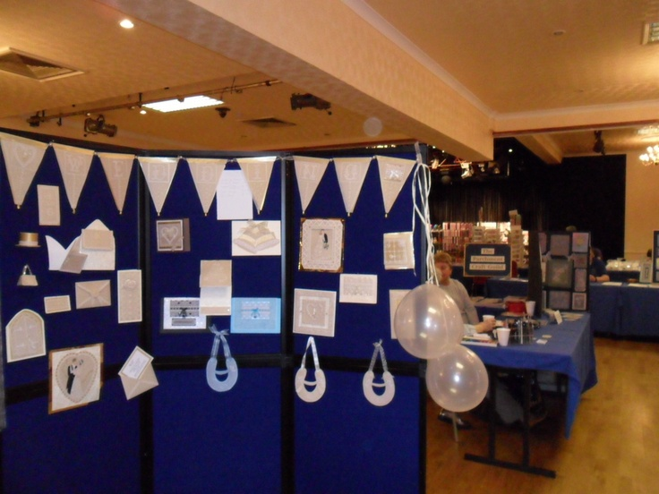 My display board at the Frimley Green  Exhibition   2011