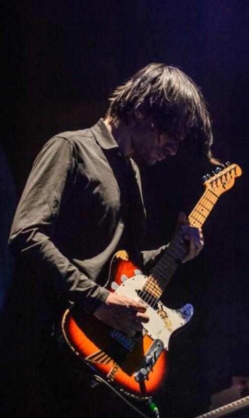 Jonny Greenwood - #Radiohead Key Arena on April 8, 2017 in Seattle, Washington