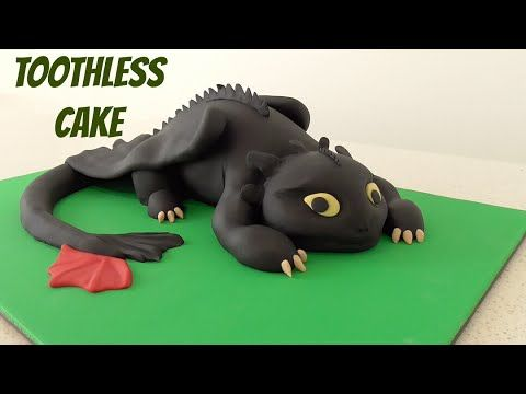Toothless Cake - How To Train Your Dragon