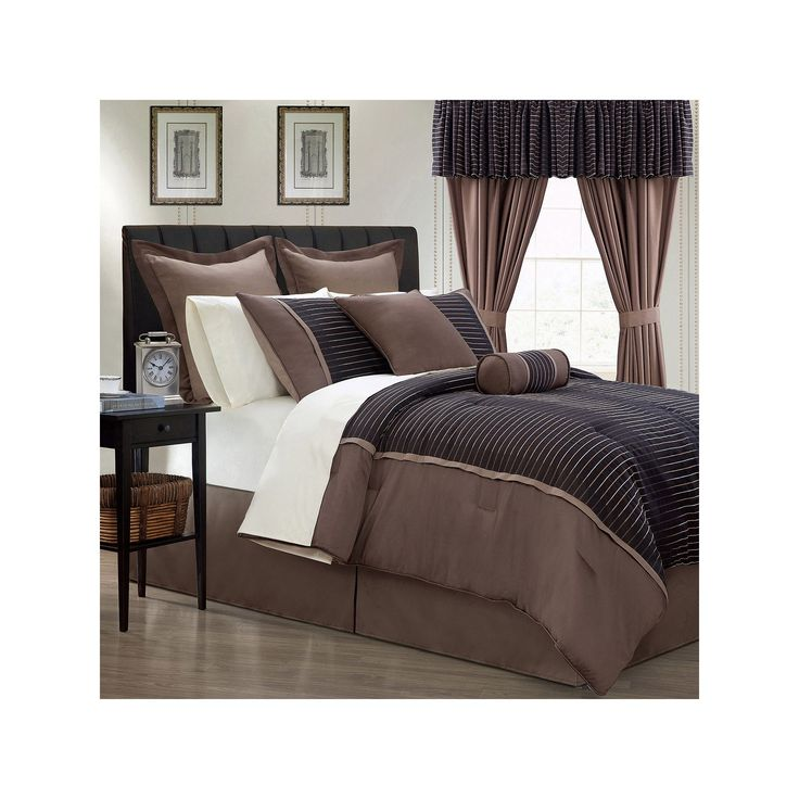 Limbo 24-pc. Bed Set, Brown