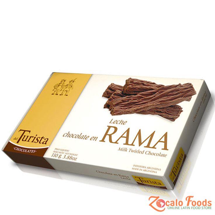 del Turista Chocolate en Rama Leche 100g 3.88 oz