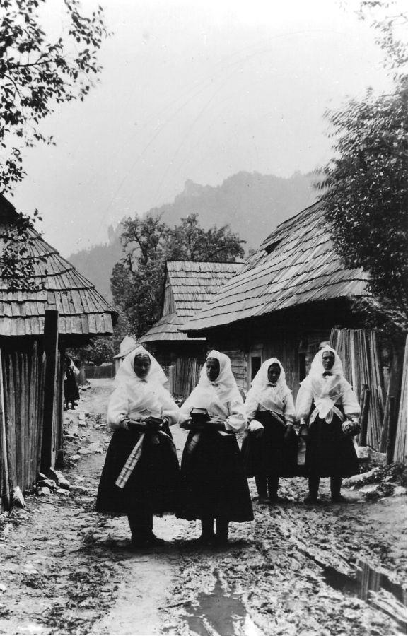 Women in village (Slovakia). - Just a nostalgia remained...