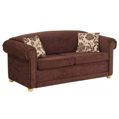 Chesterfield 2 Seater Fold-Out Sofa Bed   Wayfair UK - other fabric options, but no pictures