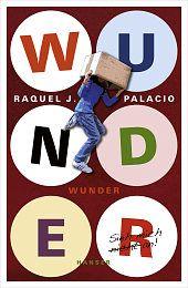 Raquel J. Palacio: Wunder  August ist anders. Dennoch wünscht er sich, wie alle Jungen in seinem Alter, kein Außenseiter zu sein. Weil er seit seiner Geburt so oft am Gesicht operiert werden musste, ist er noch nie auf eine richtige Schule gegangen. Aber jetzt soll er in die fünfte Klasse kommen.