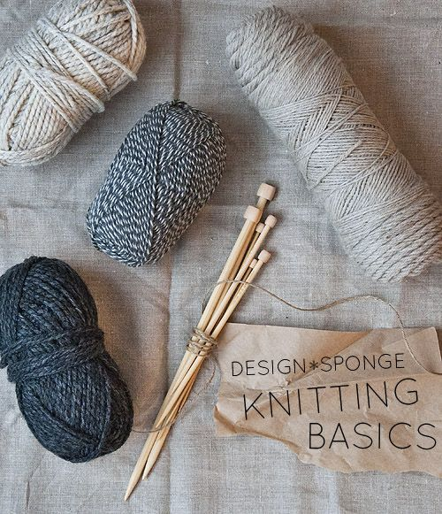 How To Knit - the Basics step by step easy Tutorial