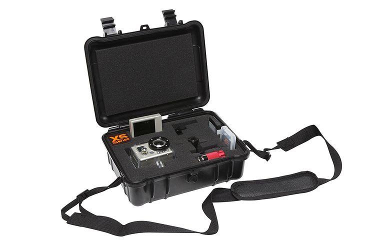 Amazon.com : XSories Black Box DIY, Shock-Proof, Waterproof, Hard Camera Case With Customizable Foam Interior, Fits All Compact Digital Cameras, Nikon Canon Camera Accessories (Red) : Camera & Photo
