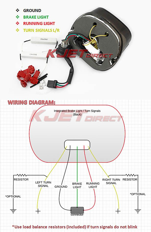 30 beautiful harley davidson tail light wiring diagram in 2020 | harley  davidson, tail light, harley  pinterest