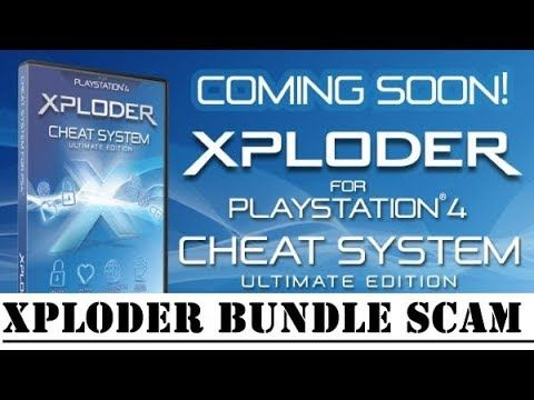PS4 Xploder - Cyber Save Editor & Xploder Bundle Scam - What You
