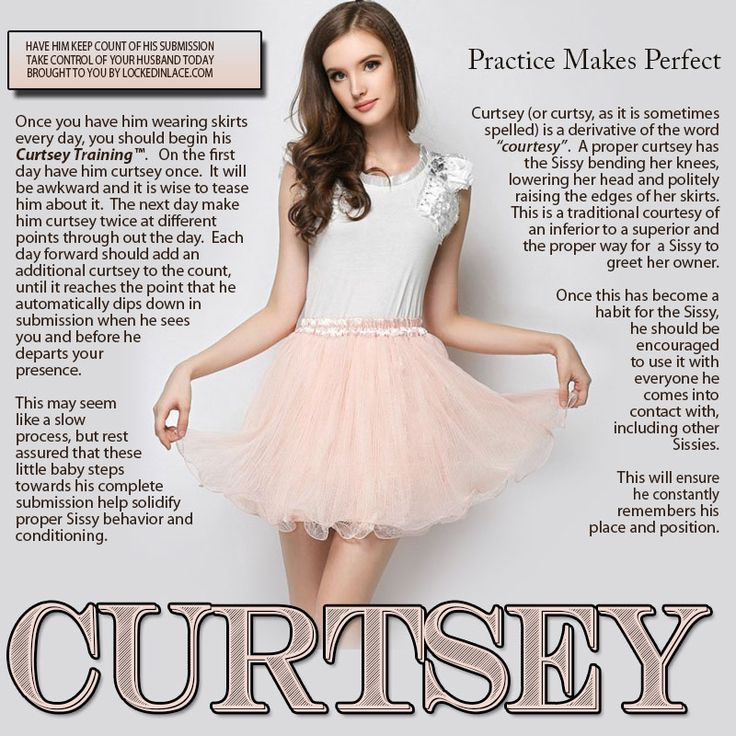 Curtsey - Practice Makes Perfect