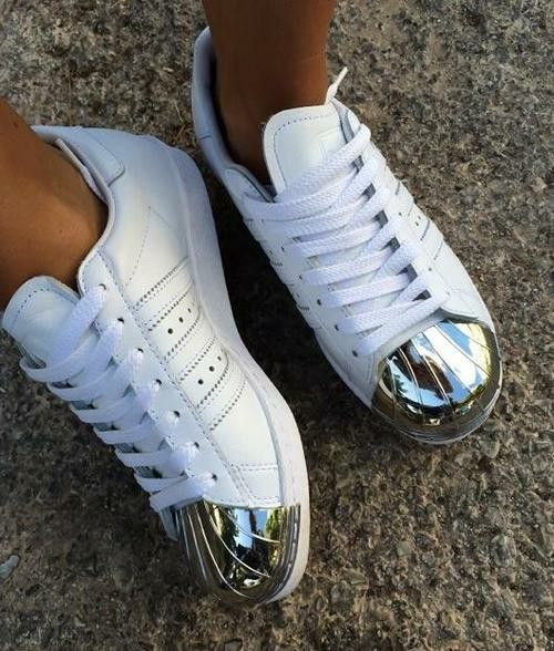 silver tipped nikes