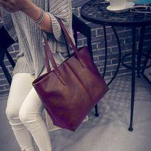 Fashion Ženy kožené tašky přes rameno Tote brašna kabelka Messenger Velký kabelka Bolsas Sac hlavní, Börse Velké tašky přes rameno (Čína (pevninská část))