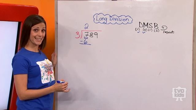 how to solve long division