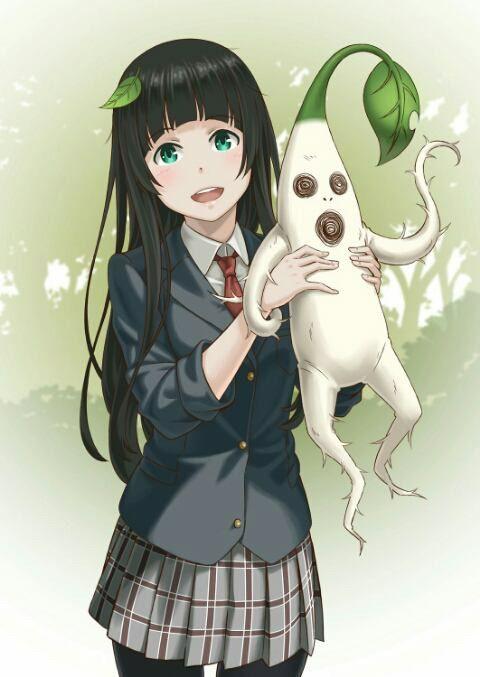 Makoto kowata  Anime: Flying witch
