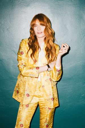 Florence Welch photographed by Derek Wood for WWD