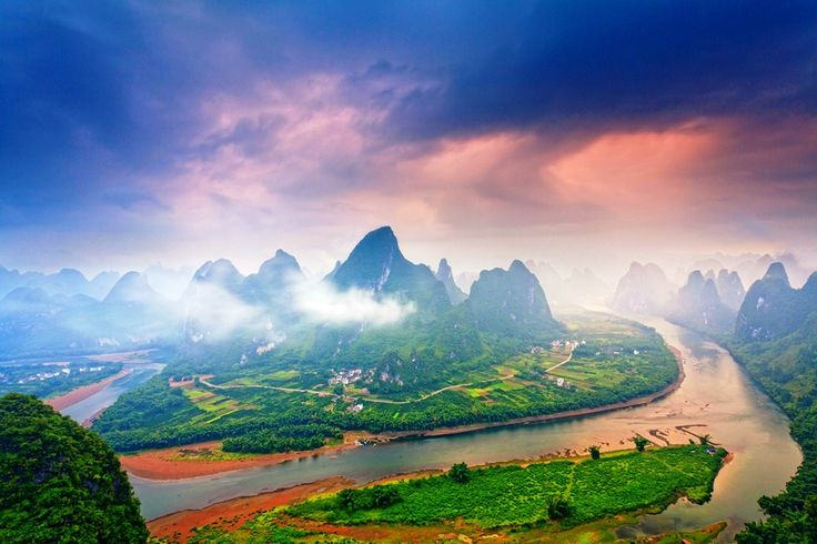 Green Nature Village Guilin China Mountains