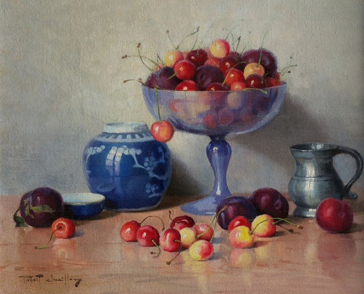 A Bowl of Cherries By Robert Chailloux (£5,250) | Gladwell & Patterson