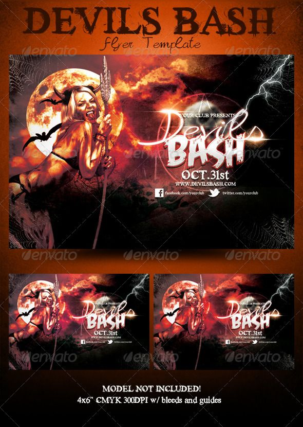 halloween flyer templates free