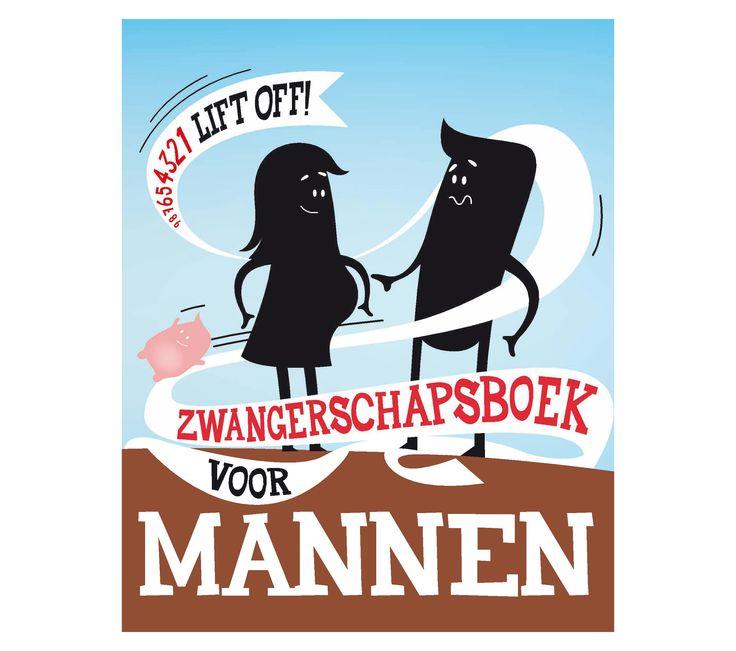 Zwangerschapsboek voor mannen. www.Millows.nl