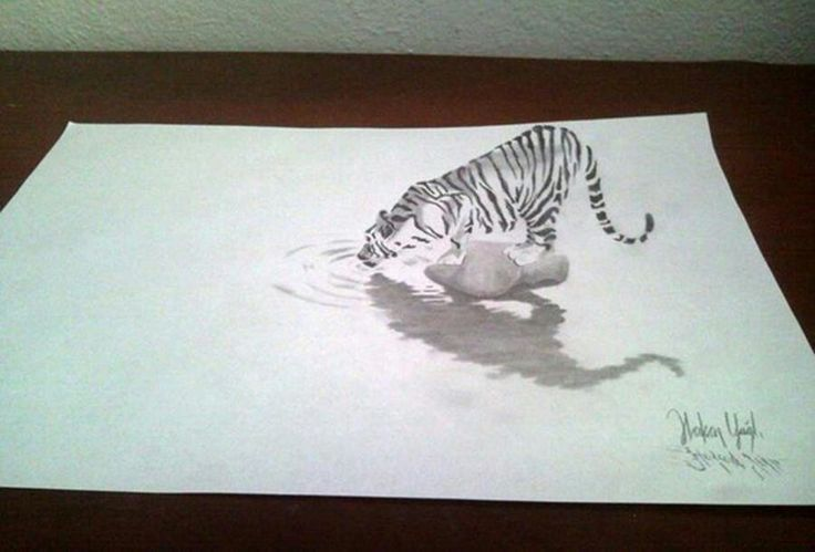 3d Drawing Art Music Photo Paint Pinterest